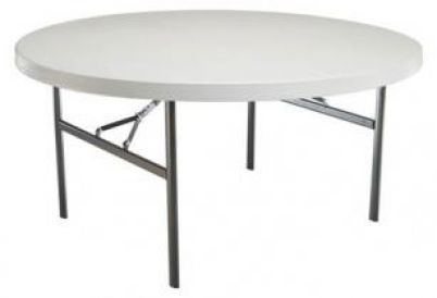 Table ronde diamétre 150 cm 8 personnes