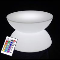 Table basse Lumineuse LED D60 cm